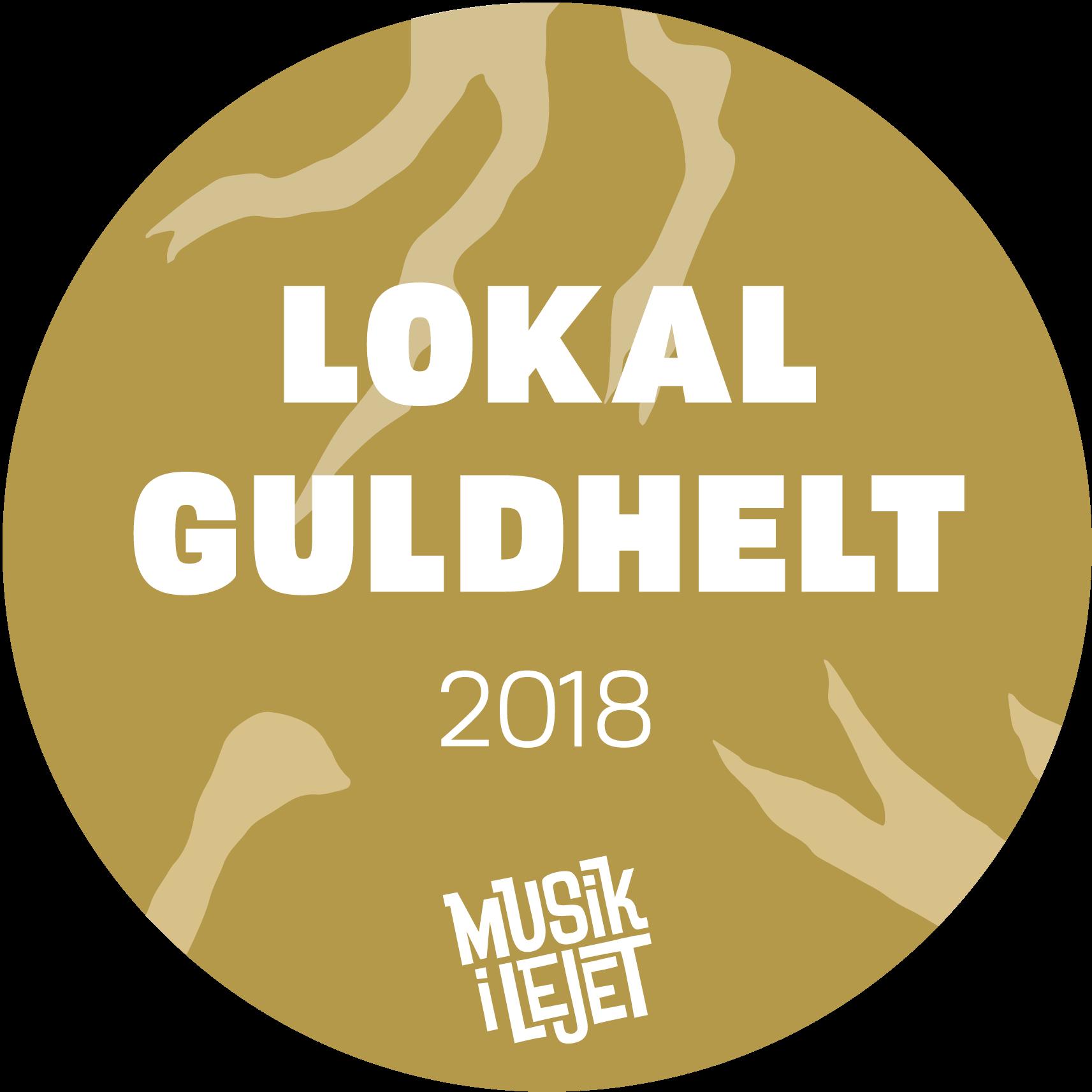 Vinder af lokal guldhelt 2018 - musik i lejet